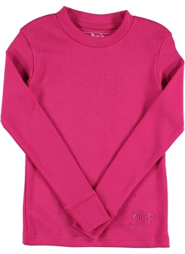 Grip Sweatshirt Fuşya